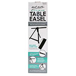 Mont Marte Aluminium Table Top Easel is simply perfect has a high-quality, lightweight aluminium frame that folds for storage. This easel is perfect for artist in the field and for displaying artwork. This table top easel holds canvas to max 50cm (19 11?16″). The Easel height is maximum 51 (20 5?64″), adjustable angles.
